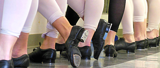 Tap Dancer's Feet